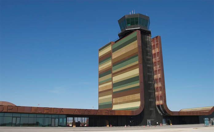El aeropuerto de Lleida, sede de renovables